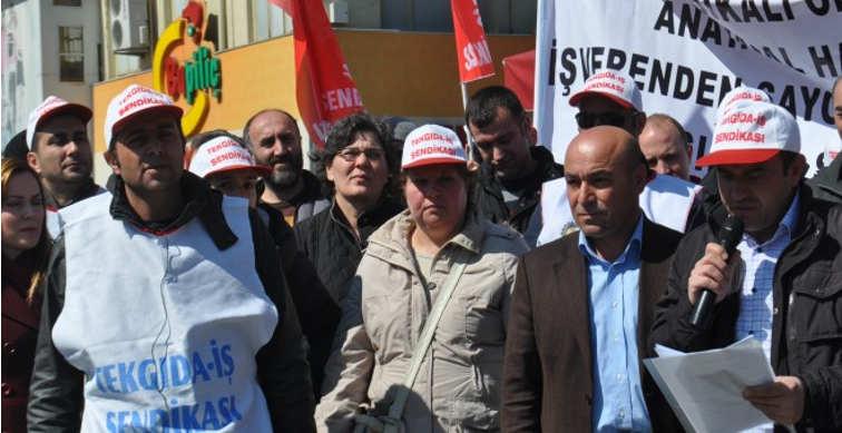 Kafkas işçilerinin mücadelesi sürüyor
