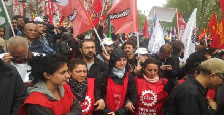 """İstanbul 1 Mayıs'ı: 'Her yer Taksim, her yer direniş"""""""