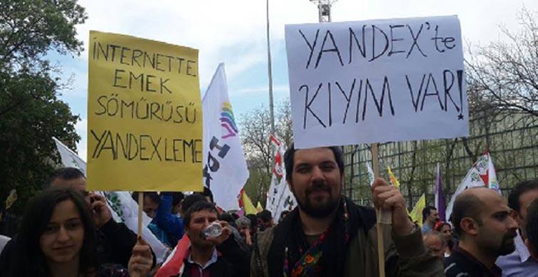 Yandex'te kıyım var!