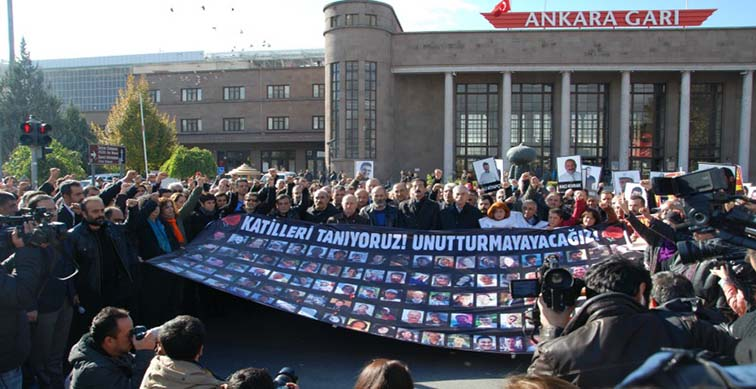 10 Ekim'in yıl dönümü: Unutmadık, unutmayacağız, katillerden hesap soracağız