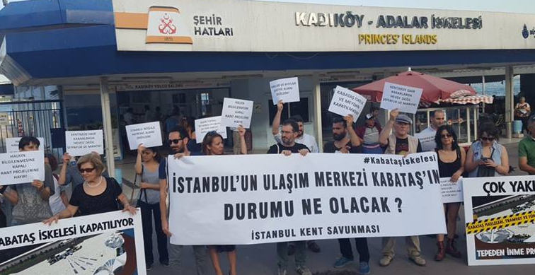 İstanbullular soruyor: Kabataş İskelesi'ne ne yapmayı düşünüyorsunuz?