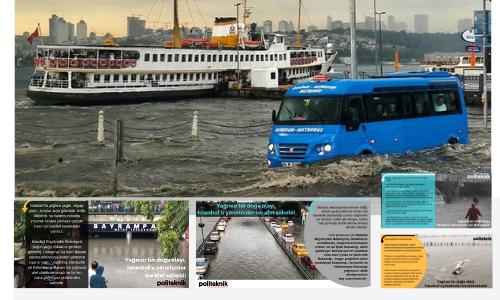 İstanbul neden her yağmurda su baskınları yaşıyor?