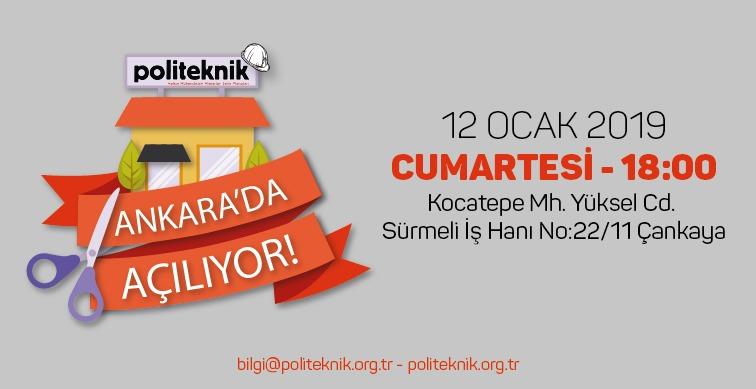 Politeknik Ankara ofisi açılışı