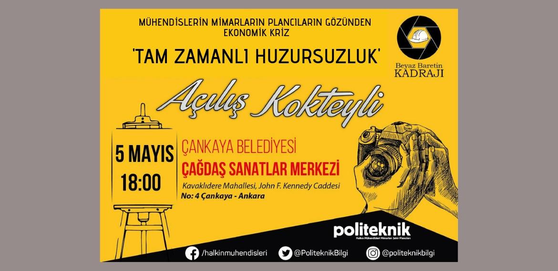 Beyaz Baretin Kadrajı Fotoğraf Sergisi sonuçlandı: Açılış 5 Mayıs'ta Ankara'da