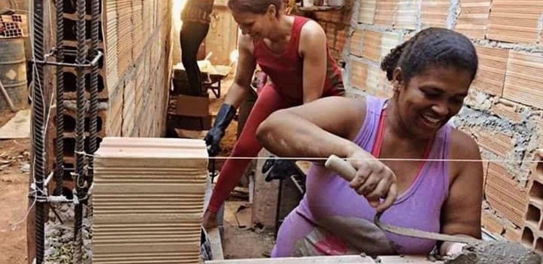Brezilyalı kadınlar kendi yaşam alanlarını inşa ediyor