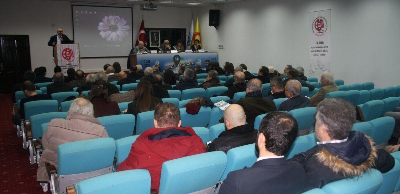 HKMO Ankara Şubesi'nde yönetim yeniden Çağdaş Harita Mühendisleri'nde