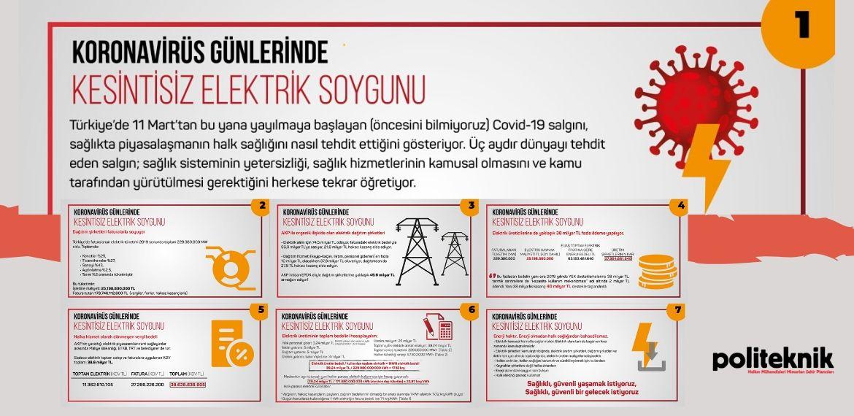 Koronavirüs günlerinde kesintisiz elektrik soygunu