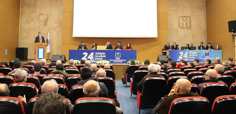 İMO Ankara Şubesi Genel Kurulu tamamlandı, demokratların hukuku yok sayıldı
