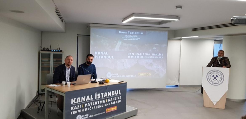 """Maden mühendislerinden Kanal İstanbul Raporu: """"Hafriyat ve patlatma hesapları yanlış!"""""""