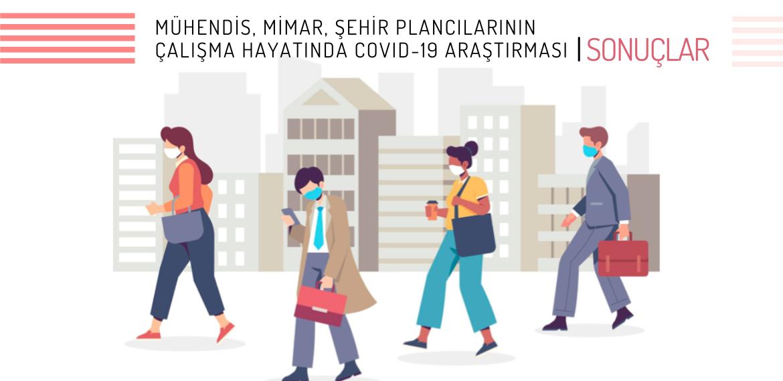 Politeknik Mühendis, Mimar, Şehir Plancılarının Çalışma Hayatında Covid-19 Araştırması sonuçlandı