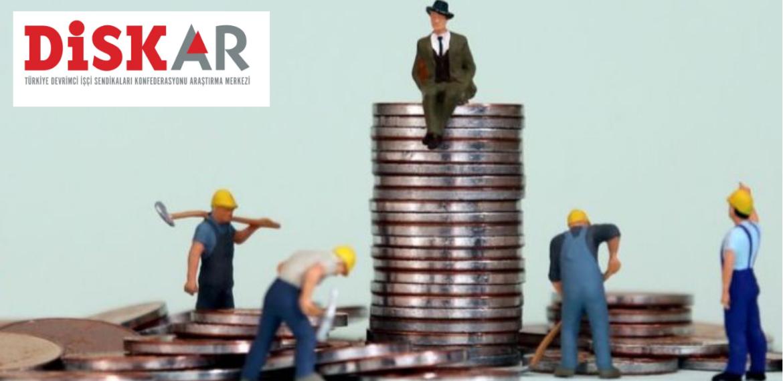 DİSK-AR: İşçiler daha fazla üretiyor, daha az pay alıyor