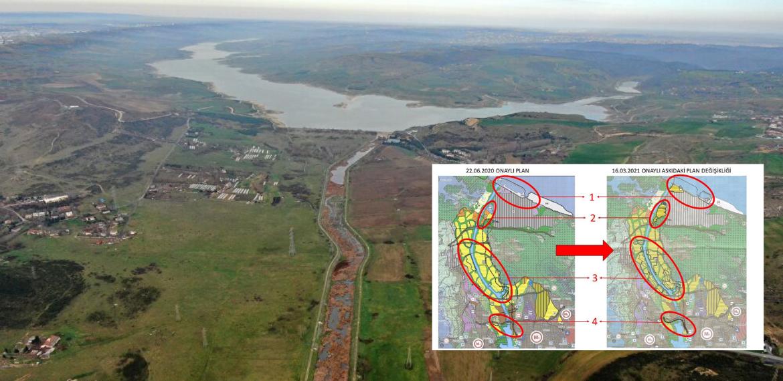 Bakanlıktan Kanal İstanbul planlarında değişiklik